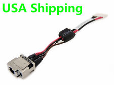 DC Power Jack in cable harness for HP folio 13-2000 13-1000 DC30100HE00T07