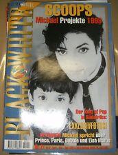 Black & white N° 21 en allemand Michael Jackson Collector Magazine Musique Itw