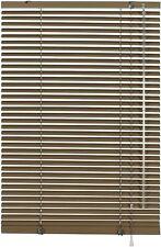 GARDINIA Alu-Jalousie 100 x 175 cm Mocca Jalousie Rollo Sicht Sonnen Schutz 6286