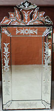 * REDUCED *      Small  Venetian Glass Style   MIRROR      BRAND NEW