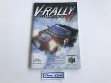 Notice - V-Rally Edition 99 - Nintendo 64 N64 - PAL EUR