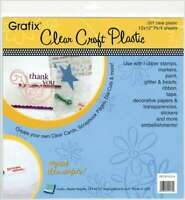 "Craft Plastic Sheets 12""X12"" 4/Pkg Clear .007 096701141722"
