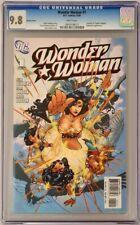 Wonder Woman #1 DC 2006 CGC 9.8 Adam Kubert Variant Cover Top Census Grade