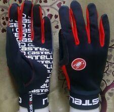 Black & Red Brand New Castelli Scalda Winter Gloves Size Medium