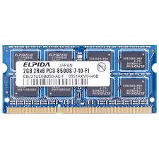 Ebj21ue8bds0-ae-f Elpida 2x2 gb ddr3 SDRAM pc3-8500