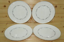 "Royal Doulton Coronet (4) Salad Plates, 8 3/8"""
