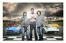 TOP GEAR - HAMMOND & MAY & CLARKSON AUTOGRAPHED SIGNED A4 PP POSTER PHOTO 2