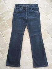 ESPRIT WOMENS STRAIGHT LEG JEANS,  SIZE AU 10, UK 12, BLUE, LOVELY