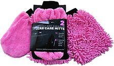 NEW Lot 20 pink Car Wash Mitt Sets Cheerleading, Cancer Awareness, Fund Raisers