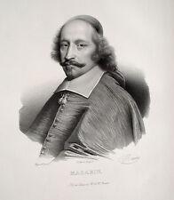 Kardinal Mazarin Eminenz Diplomat Richelieu Westfälischer Friede Fronde France