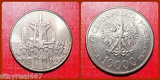 POLAND 10 000 ZLOTYCH 1990 10th Anniversary of Solidarity Złotych Y# 195