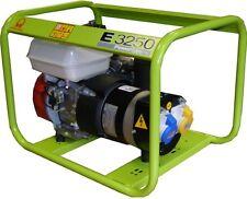 Pramac E3250 2.8kva Honda Powered Petrol Generator 240/110v