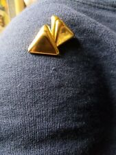 9ct gold Triangle Shape earrings