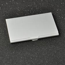 Silver Business ID Credit Card Aluminium Metal Fine Case Box Holder Pocket JT12