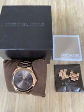 Michael Kors Rose Gold Watch Ladies