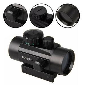 Zielfernrohr Airsoft Leuchtpunktvisier Dot Sport Sight Rifle Rot & Grün Laser