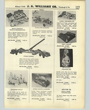 1958 PAPER AD Ideal Toy Atomic Cannon Rocket Launcher Sail Boat Yacht