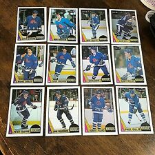 1987-88   O-Pee-Chee QUEBEC NORDIQUES 12   team set/lot set 2