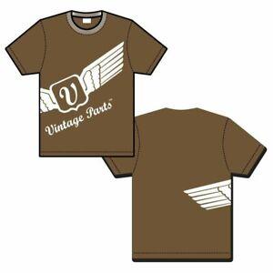 Vintage Wing Brown T Shirt - XL VPAAW003TSLBN4 vintage parts usa hot rod truck