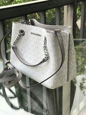 Michael Kors Women Small Leather Messenger Satchel Crossbody Handbag Bag Purse