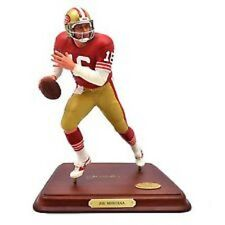 JOE MONTANA Danbury Mint Football Statue Figurine Limited Edition w/COA NEW