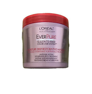 Loreal EverPure Moisture Deep Restorative Antifade Treatment Masque Red Cap