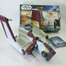 Star Wars The Clone Wars Republic Attack Shuttle Vehicle Base Recon Hasbro