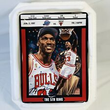 Michael Jordan Bradford Exchange Ticket To Greatness Plate 8 The 5th Ring W/ COA