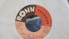 G2 LITTLE JOHNNY TAYLOR MAKE LOVE TO ME BABY/HOW CAN A BROKE MAN SURVIVE ON RONN