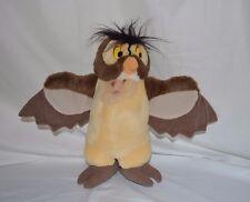 "Vintage Disney Store Plush 12"" Winnie the Pooh Wise Owl Stuffed Animal Toy"