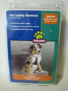 Top Paw Pet Safety Harness Size Medium Easy Rider New in Pkg
