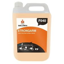 2 x 5L Selden Strongarm Heavy Duty Hard Surface Cleaner F040