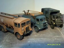 Set of 3 Airfix 1/76 Military Lorries Expertly Made Suit 00 Railway/Diorama