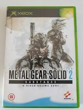 Metal Gear Solid 2: Substance (Xbox), , Used; Good Game no manual