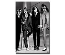 KISS POSTER 2004 - Black-and-White Makeup Classic - GENE SIMMONS, Paul Stanley