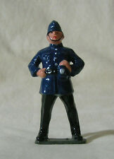 English Bobby policeman, G Scale or #1 gauge train layout figure, Reproduction
