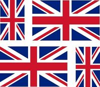 4 x Aufkleber Auto Sticker Great britain motorrad Fahne Flagge UK union jack