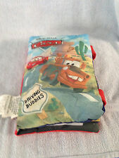 Disney Cars Plush Pillow Story Book Driving Buddies Lightening Mcqueen