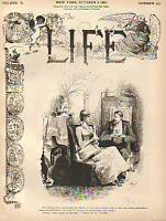 1887 Life October 6-France and Zola; Chicago Anarchists