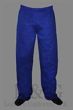 ROYAL BLUE chef pants (trousers)  L&G London Uniforms 2 Extra Large XXL