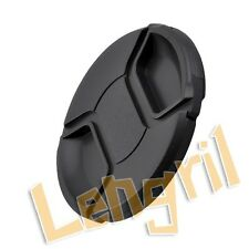 77mm 77 mm Center Pinch Front Lens Cap Cover For Canon Nikon Camera