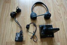 Plantronics Savi W720-M Black Headband Headsets with WO2 Charging Base