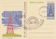 Poland postmark WADOWICE - 100 years Polish stamp