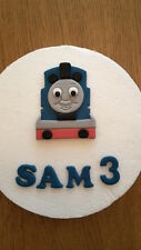 Edible Thomas the Tank Engine Personalised Birthday Cake Topper Decoration