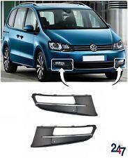 NEU Volkswagen VW Sharan 2010 - 2018 vorne Stoßstange unten Gitter Paar Set