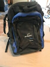 Oceanic At-Pak 4  Roller Dive Bag  Retracting Handle Carry On Backpack