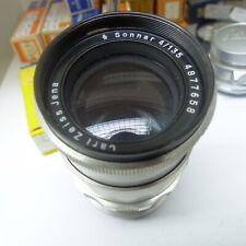 CARL ZEISS JENA Objektiv SONNAR 4/135 für PENTAFLEX 16 Lens 001