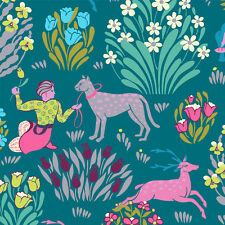 Splendor - Forest Friends River by Amy Butler - Quilting Fabric