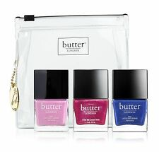 Butter London After Party Lacquer Trio ($55 Value) *lot of 3* +Surprise Sample