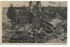 1910 Postcard of Train Wreck on the Southern Railway near Chattanooga TN